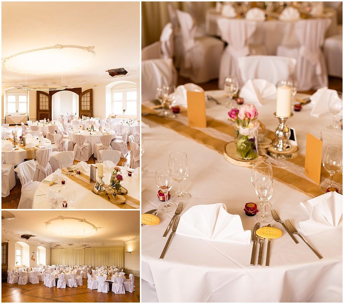 Heiraten auf Schloss Kapfenburg bei Lauchheim Fürstensaal
