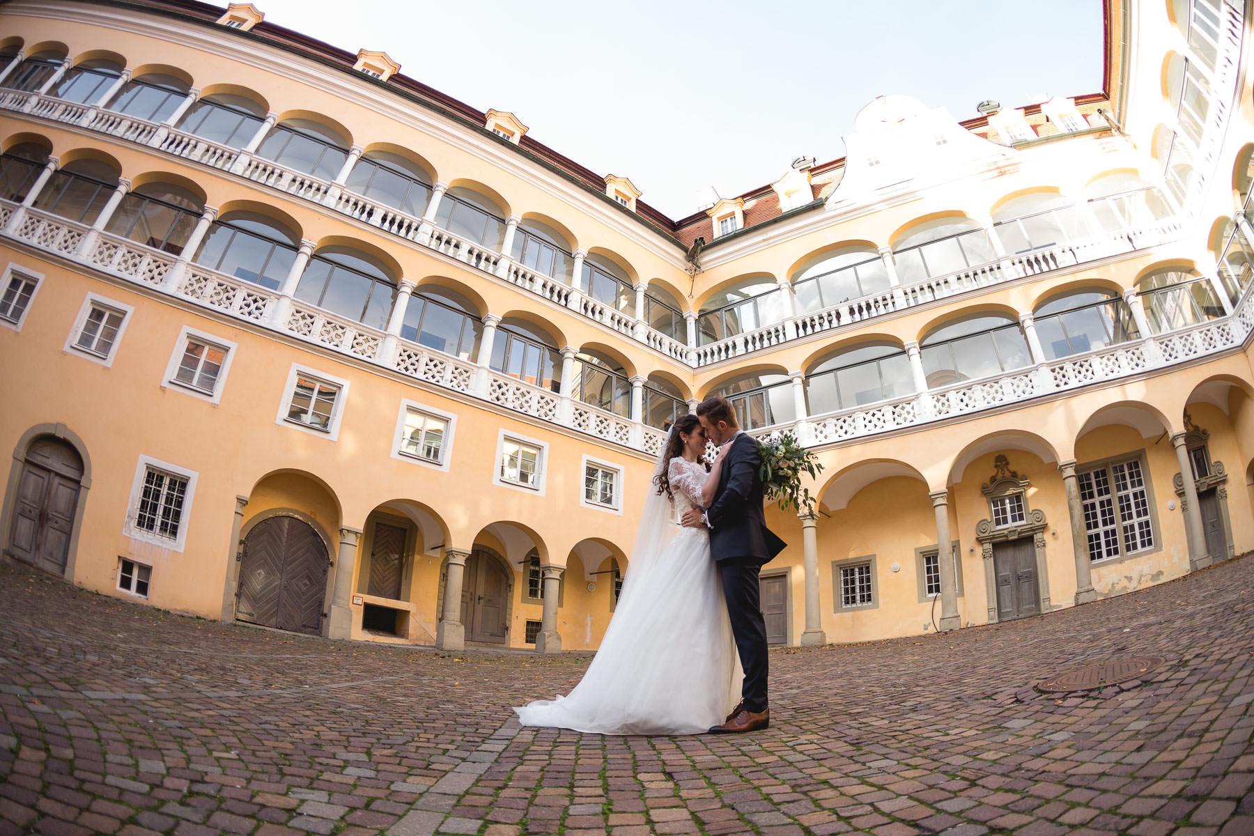 Hochzeitsfotos im Standesamt Palais Adelmann in Ellwangen