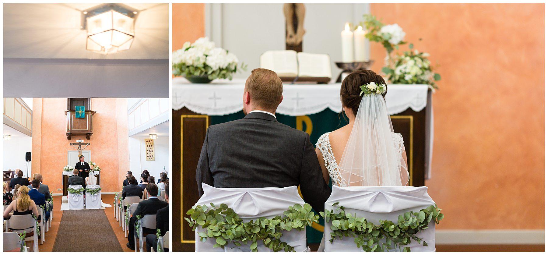 Hochzeit in der Kirche in Altenmünster in Crailsheim