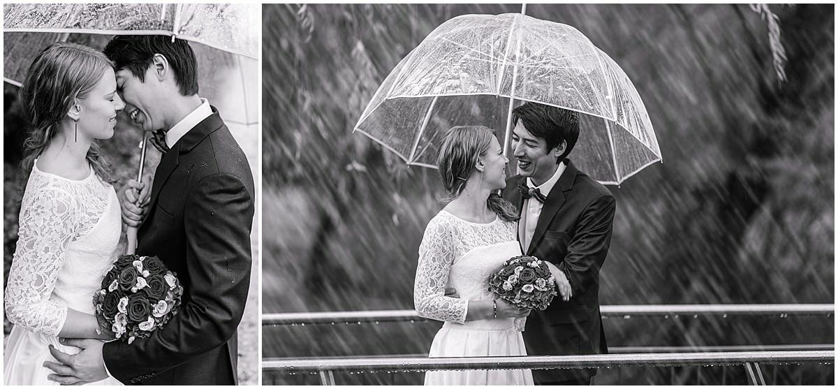 Hochzeitsfotos im Regen von Daniela Knipper