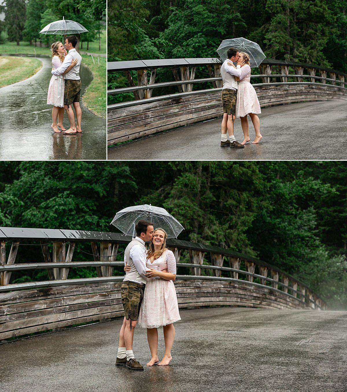 Was tun wenn es am Hochzeitstag regnet?