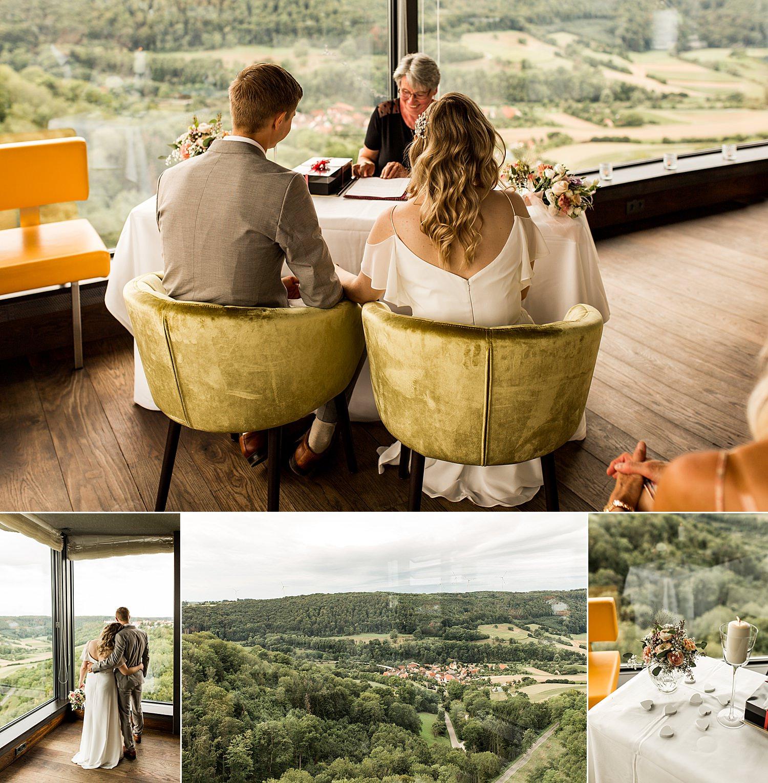 Standesamtlich heiraten im Wellness Resort Mawell in Langenburg