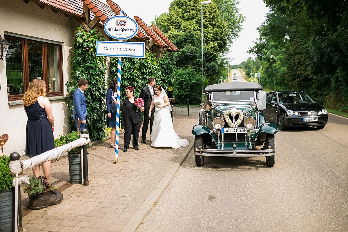 Hochzeit feiern im Landgasthof Kreuz Dirgenheim