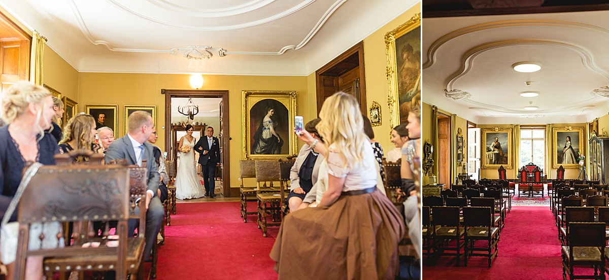 fürstliche Heiraten im Standesamt auf Schloss Fachsenfeld bei Aalen