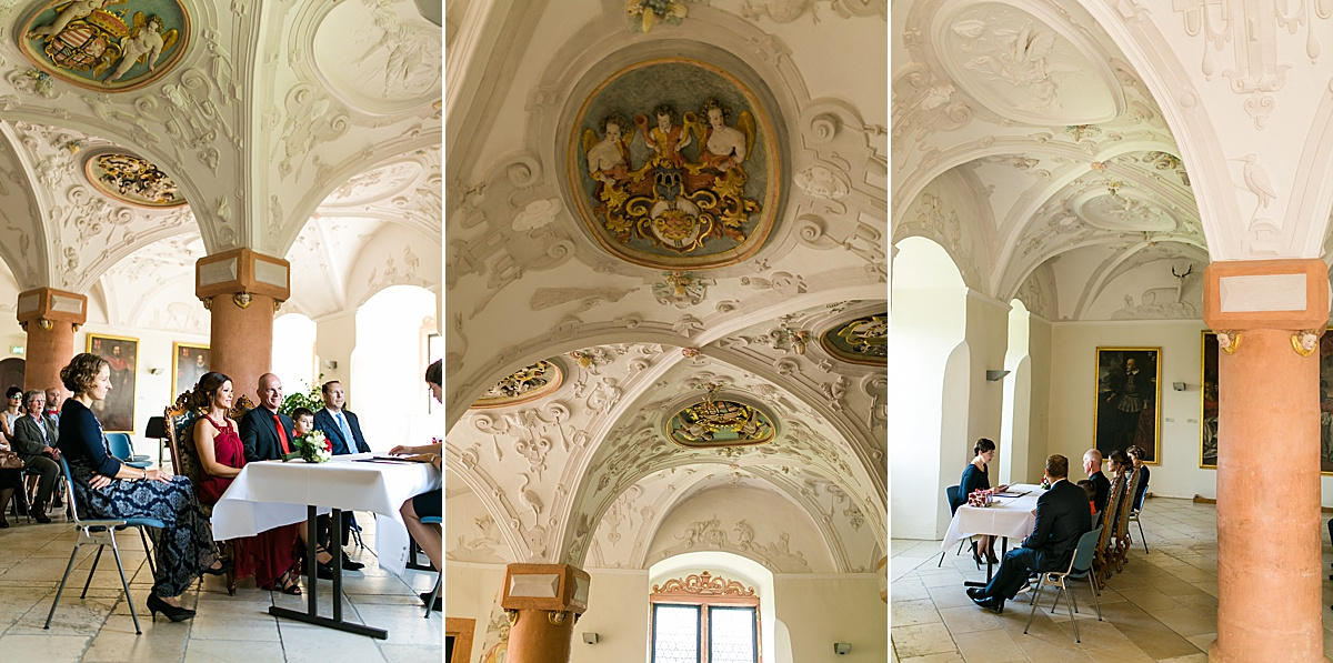 Standesamtliche heiraten auf Schloss Kapfenburg