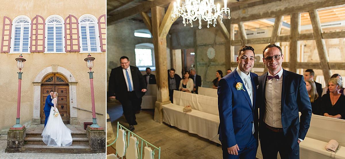 Rustikal heiraten im Standesamt Schloss Fachsenfeld