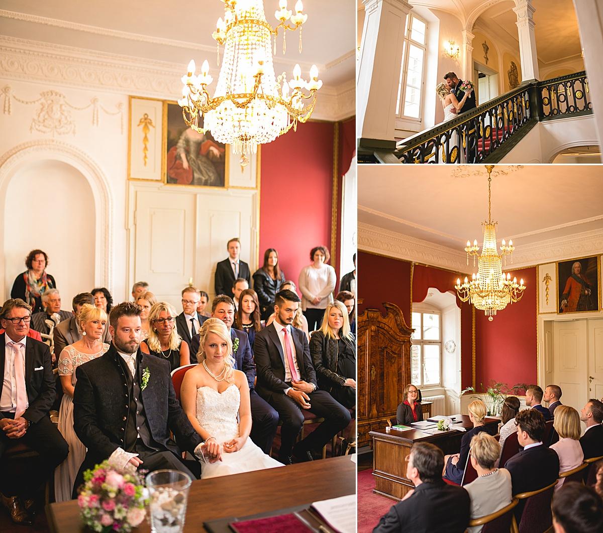Standesamtlich heiraten in Ellwangen im Palais Adelmann