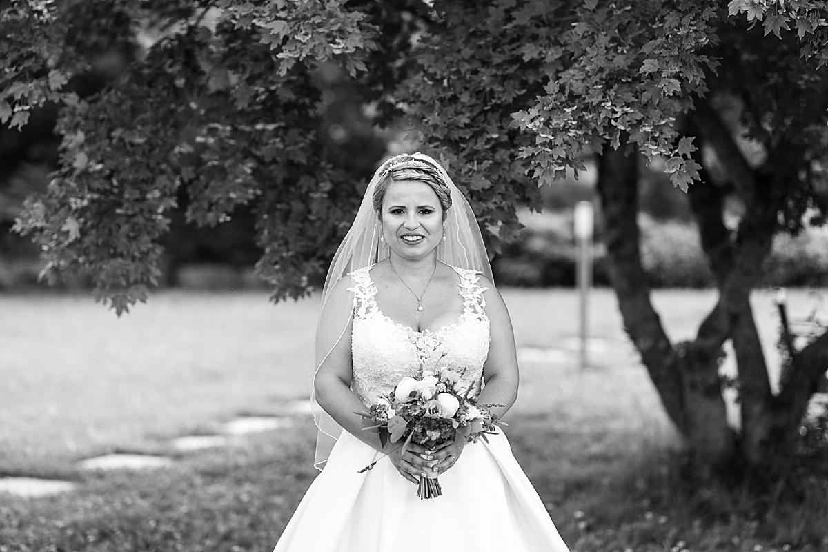 Wunderschöne Braut in Crailsheim