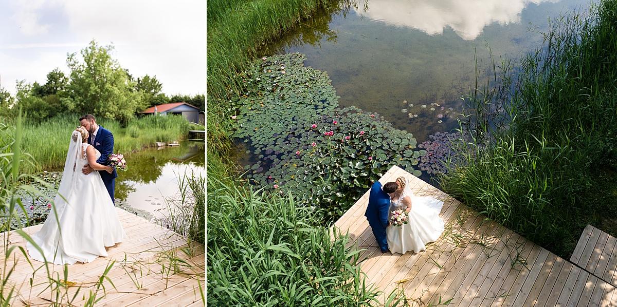 Drohnenfotos Hochzeit in Crailsheim