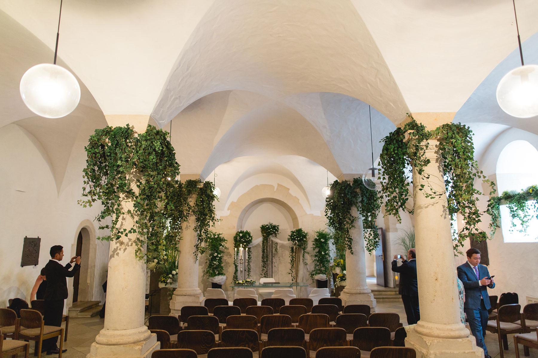 Standesamtlich heiraten auf Schloss Heidenheim