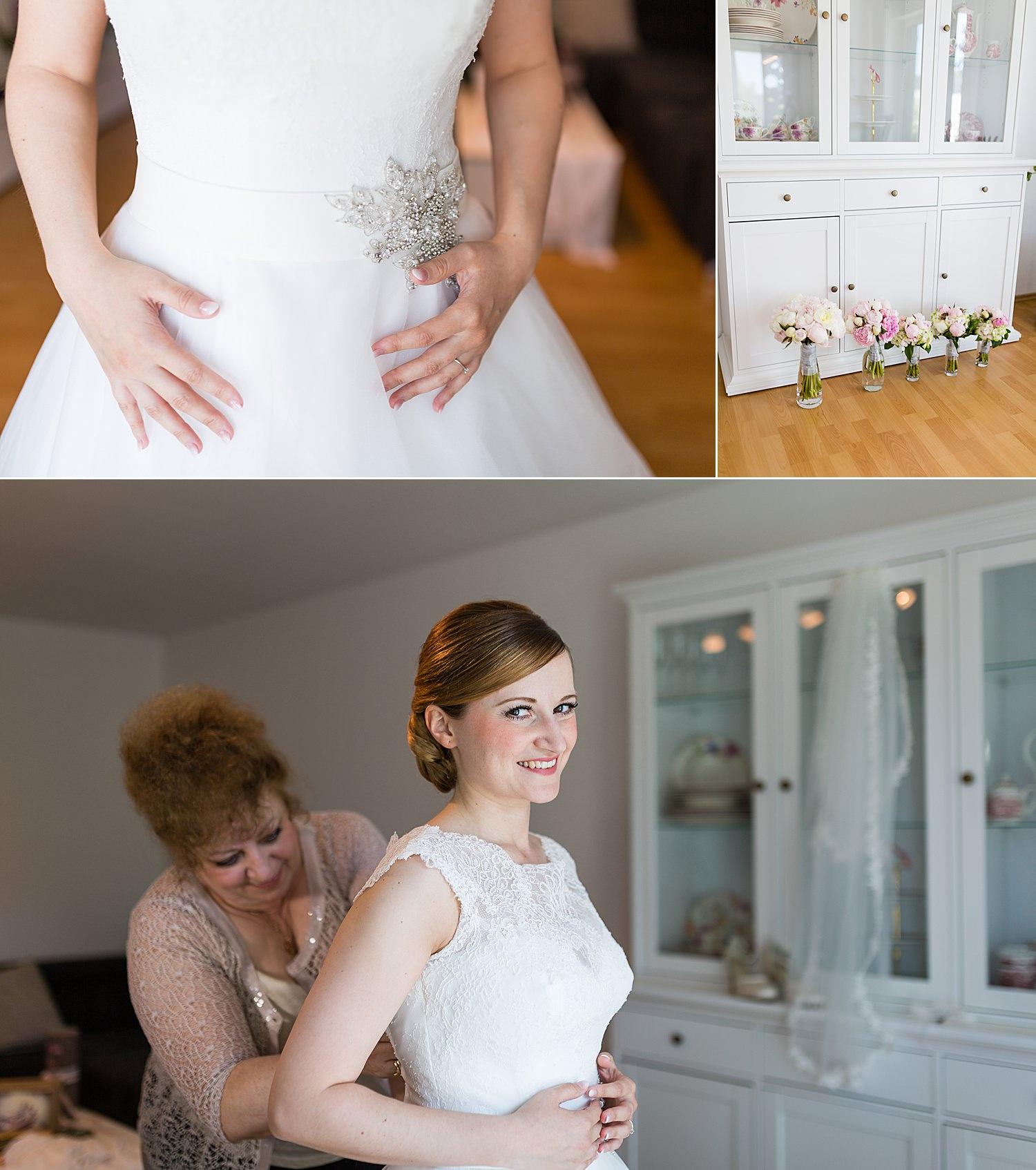Vorbereitungen für einen entspannten Hochzeitsmorgen