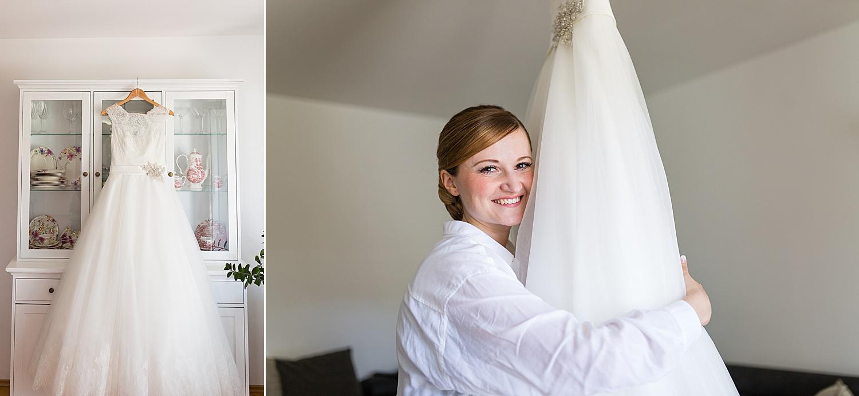 Getting Ready Shooting bei der Braut