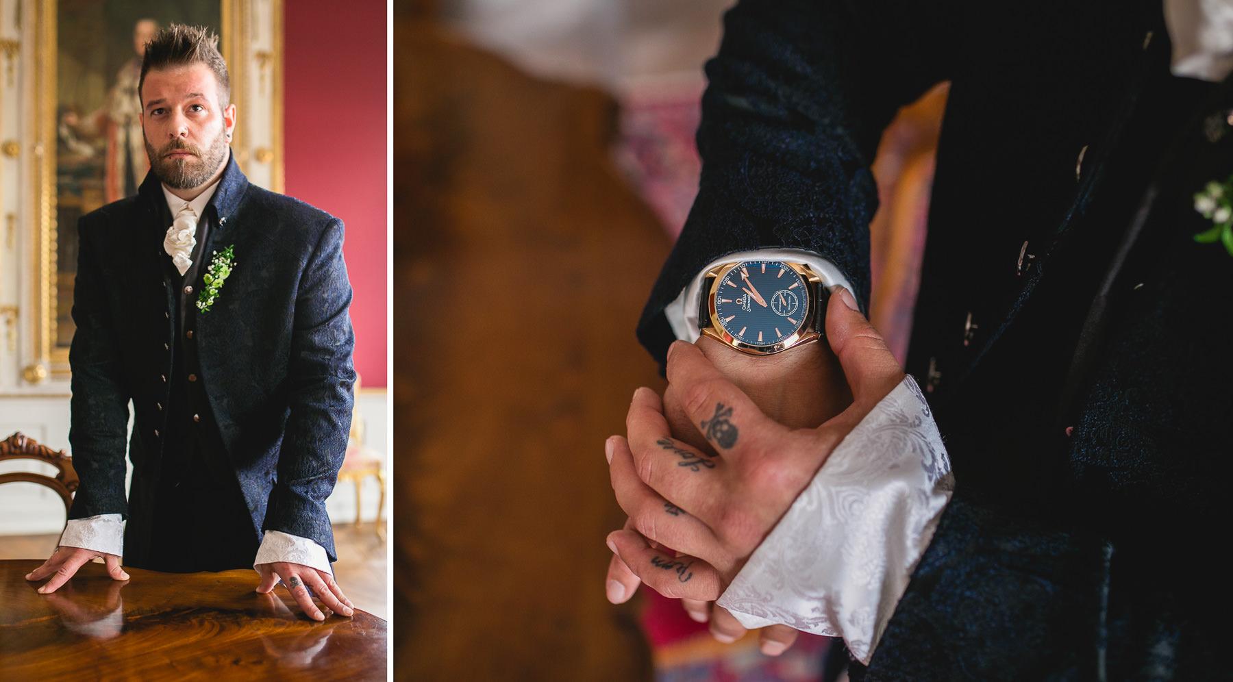 Bilder vom Bräutigam fotografiert von Daniela Knipper