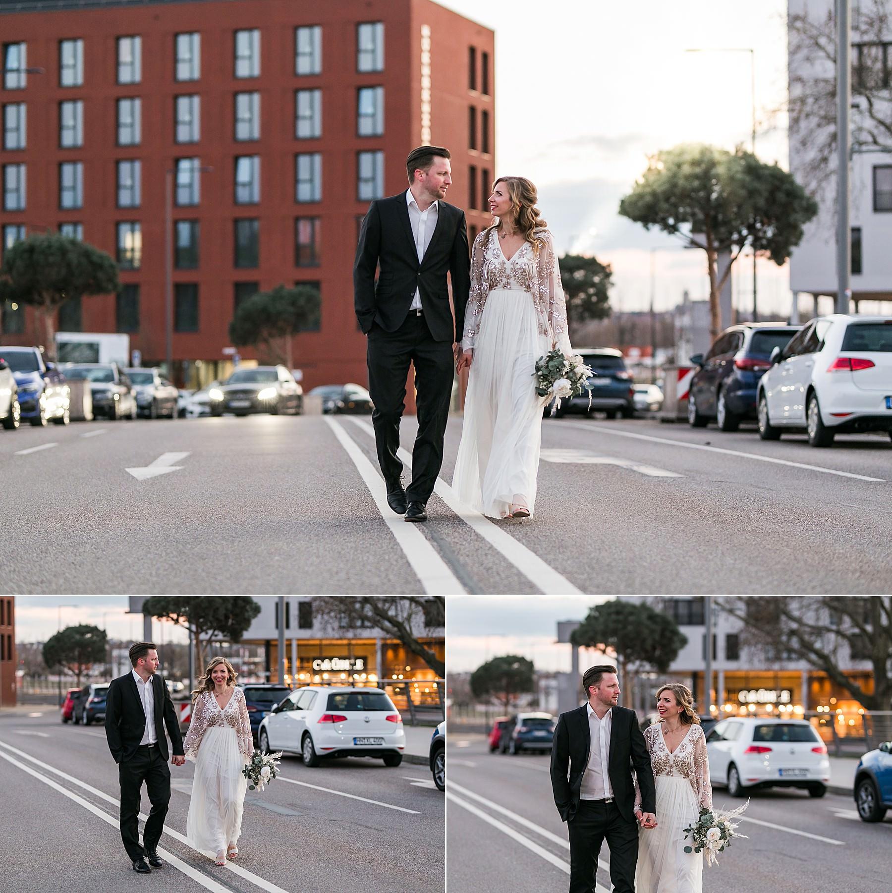 Brautpaarshooting in der Heilbronner City