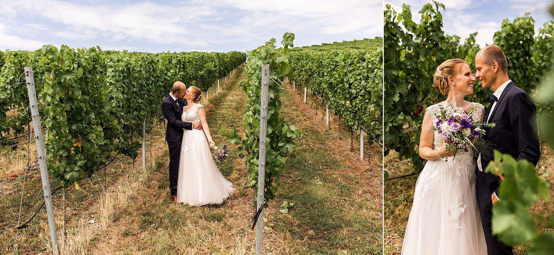 Hochzeitsfotograf Daniela Knipper auf dem Weingut in Heilbronn