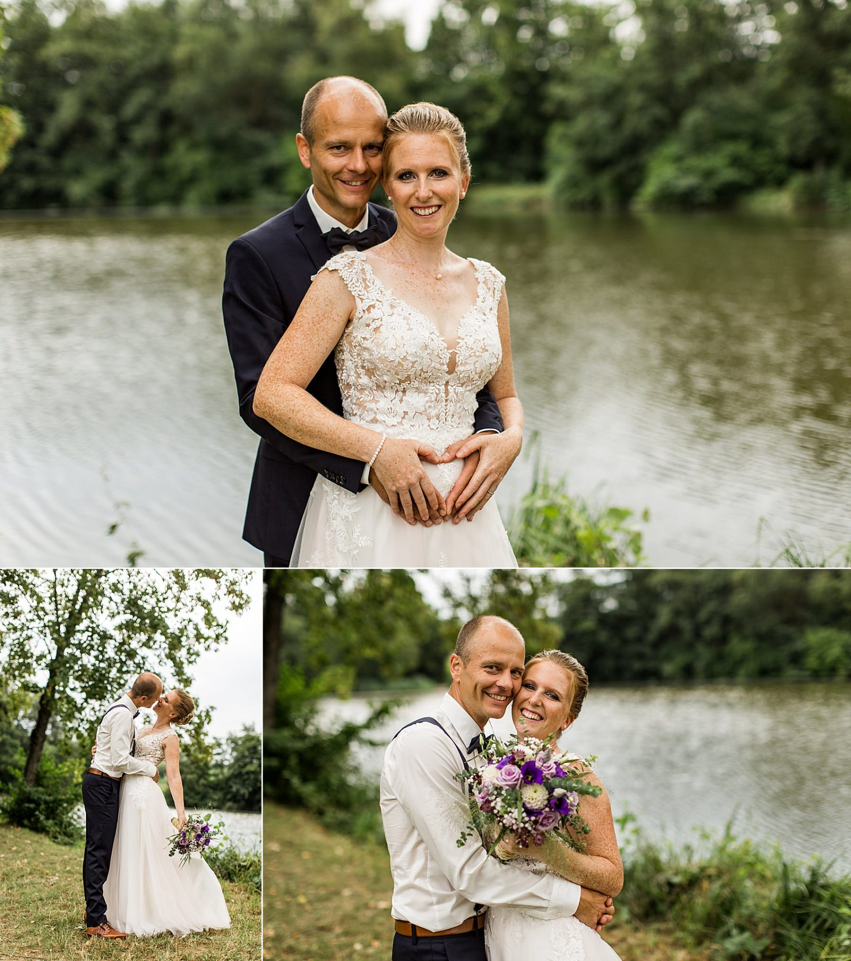 Brautpaarshooting mit Babybauch in Heilbronn im Sommer