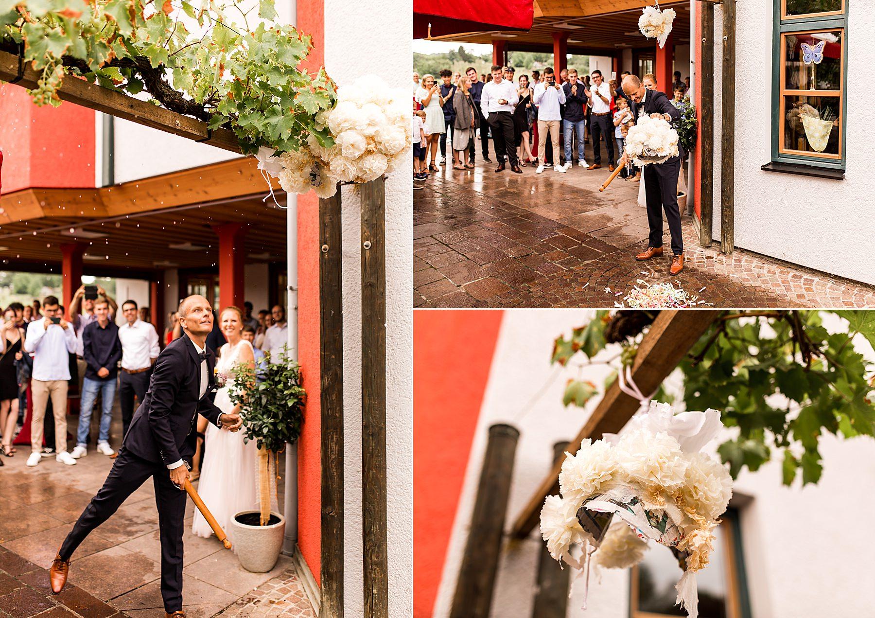 Hotel wo der hahn Kräht in Flein als Hochzeitslocation in Heilbronn