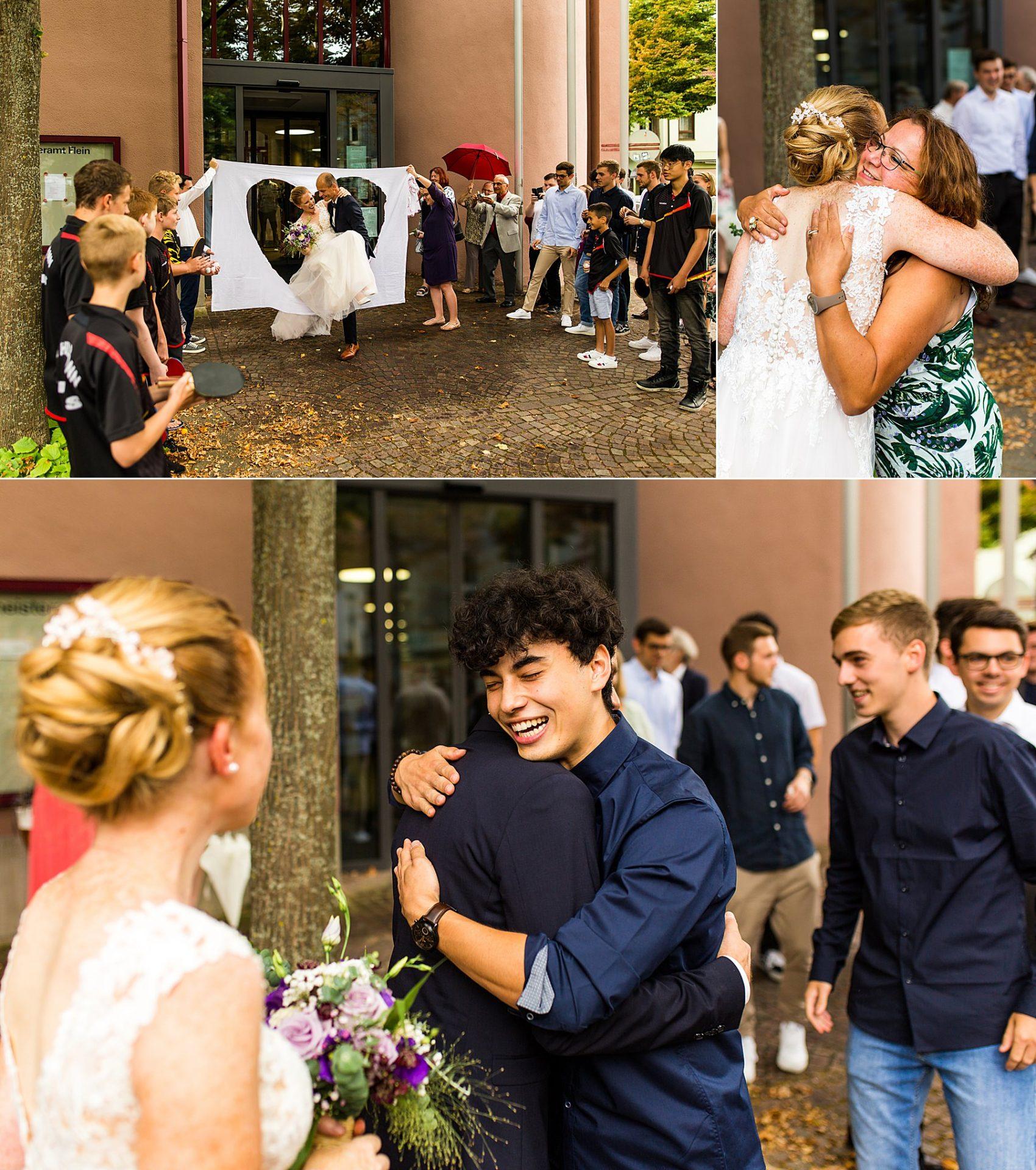 Heiraten am Standesamt Flein während Corona