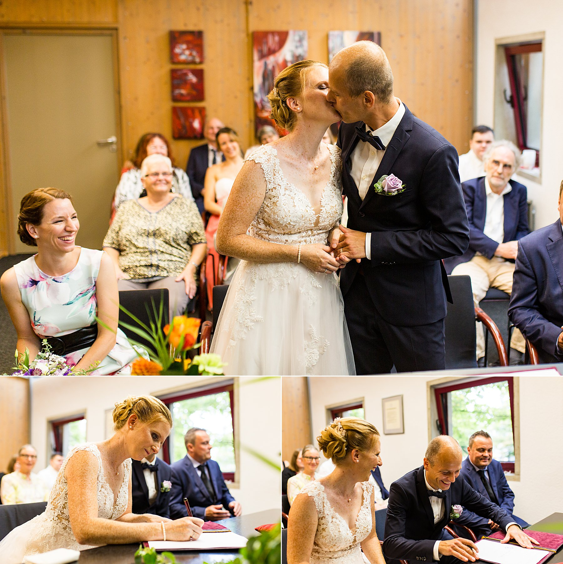 standesamtliche Hochzeit im rathaus Flein