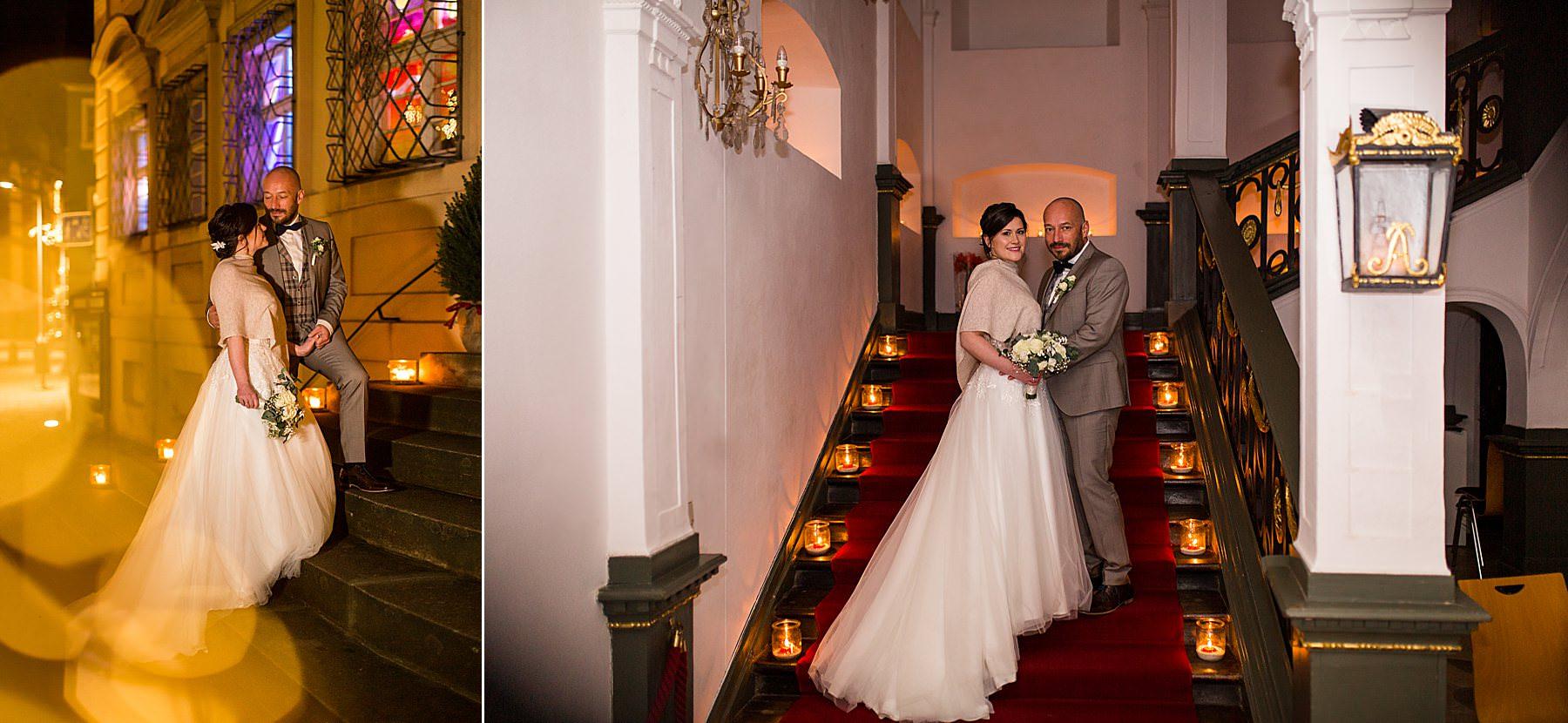 Romantische Candle-Light-Trauung im Palais Adelmann