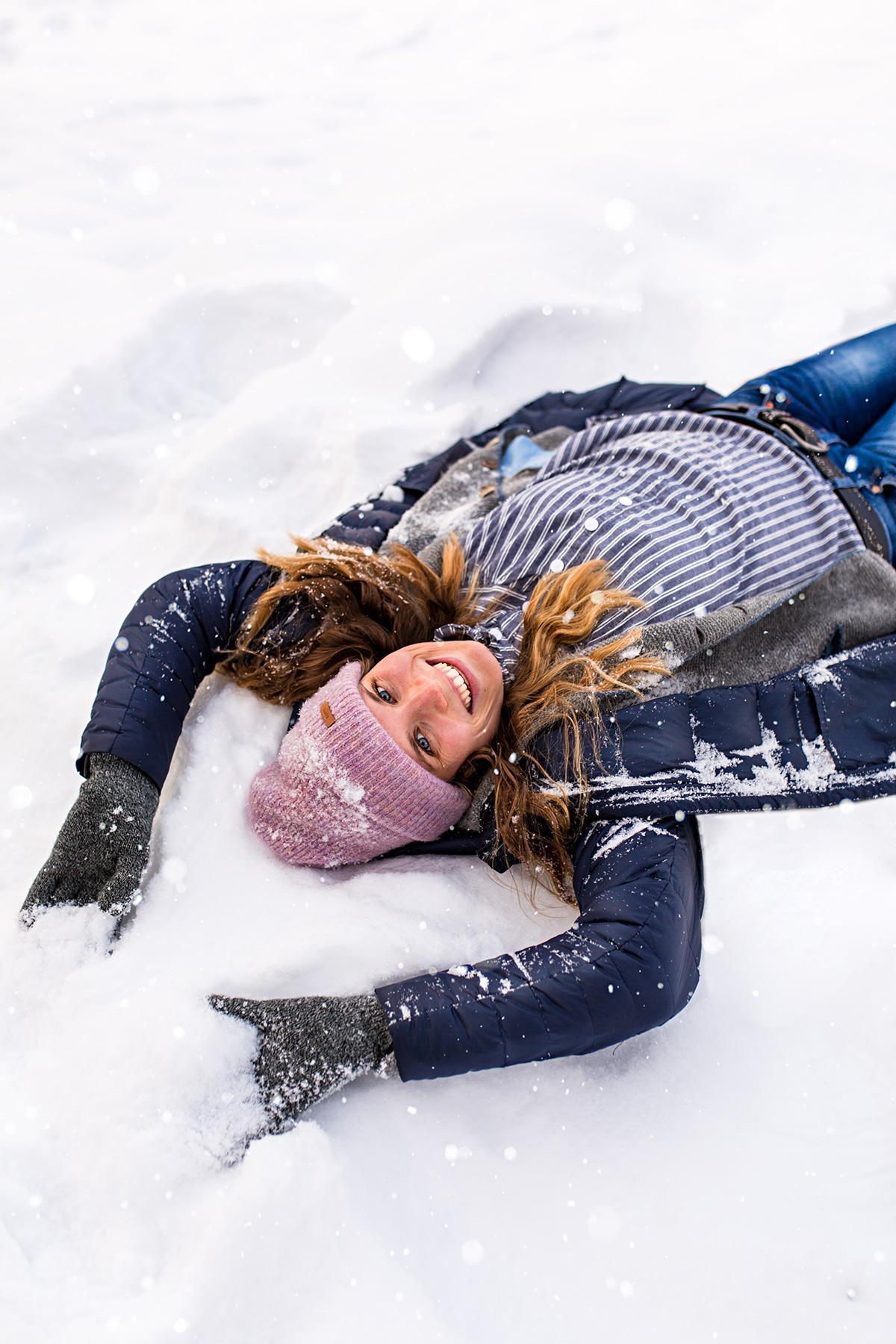 Menschen fotografieren im Winter - Posingtipps für Anfänger