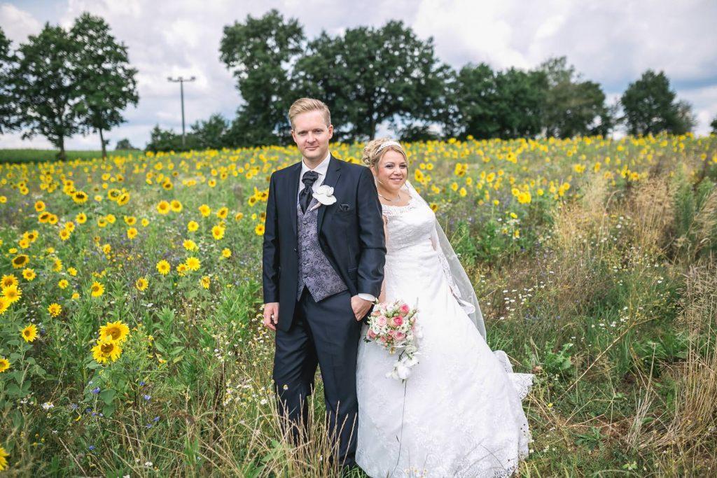 Hochzeitsfotos Sonnenblumen Ellwangen
