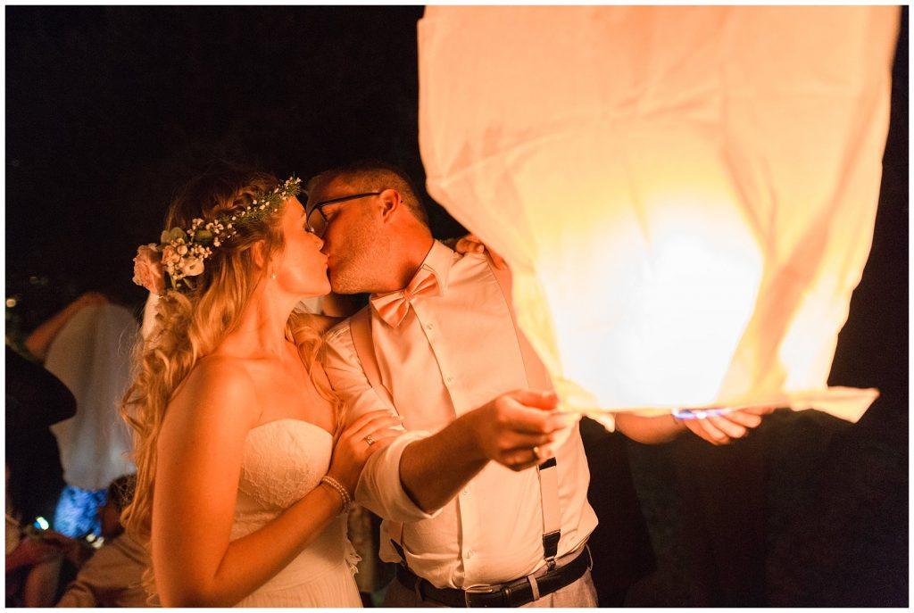 Himmelslaternen Hochzeit