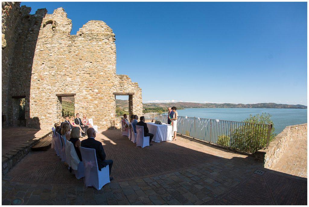 Hochzeit Rocca Passignano sul Trasimeno