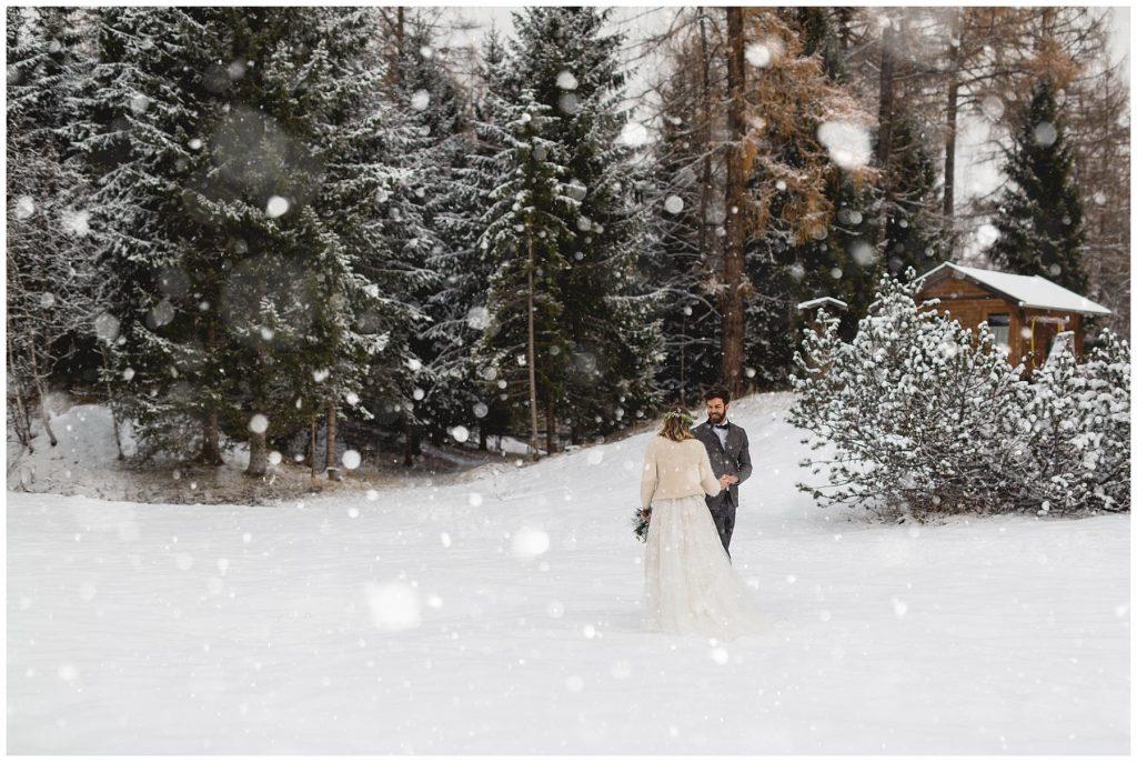 Winterhochzeit in Tirol